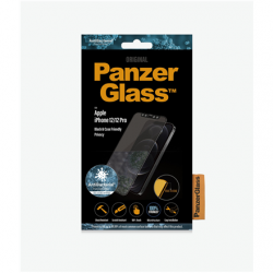 """PanzerGlass For iPhone 12/12 Pro, Glass, Black, Privacy glass, 6.1 """""""