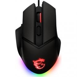 MSI Clutch GM20 Elite Optical, RGB LED light, Black, Gaming Mouse