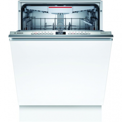 Bosch Dishwasher SBV6ZCX00E Built-in, Width 60 cm, Number of place settings 14, Number of programs 6, Energy efficiency class C, AquaStop function, White, Height 86 cm