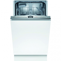 Bosch Dishwasher SPV4EKX29E Built-in, Width 45 cm, Number of place settings 9, Number of programs 6, Energy efficiency class D, AquaStop function, White