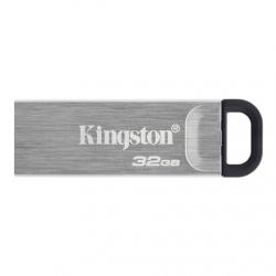 Kingston USB Flash Drive DataTraveler Kyson 32 GB, USB 3.2 Gen 1, Black/Grey