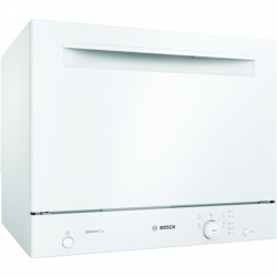 Bosch Dishwasher SKS51E32EU Free standing, Width 55 cm, Number of place settings 6, Number of programs 5, A+, White