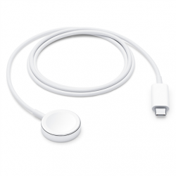 Apple Watch Magnetic Charger to USB-C Cable (1 m), White