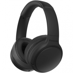 Panasonic Deep Bass Wireless Headphones RB-M700BE-K Over-ear, Microphone, Noice canceling, Black