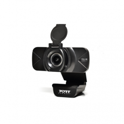 PORT DESIGNS FHD Webcam 900078 Black, USB