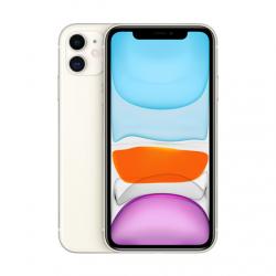 "Apple iPhone 11 White, 6.1 "", IPS LCD, 828 x 1792 pixels, Hexa-core, Internal RAM 4 GB, 64 GB, Single SIM, Nano-SIM and eSIM, 3G, 4G, Main camera 12+12 MP, Secondary camera 12 MP, iOS, 13, 3110 mAh"