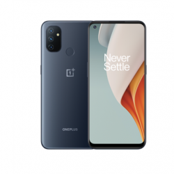 "OnePlus Nord N100 Midnight Frost, 6.52 "", IPS LCD, 720 x 1600 pixels, Qualcomm SM4250 Snapdragon 460, Internal RAM 4 GB, 64 GB, Dual SIM, Nano-SIM, 3G, 4G, Main camera 13 + 2 + 2 MP, Secondary camera 8 MP, Android, 10.0, 5000 mAh"