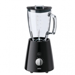 Braun Blender TributeCollection JB3060BK Tabletop, 800 W, Jar material Glass, Jar capacity 1.75 L, Ice crushing, Black