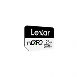 Lexar High Speed nCARD for Huawei phones 128 GB, Black/White, 70 MB/s, 90 MB/s