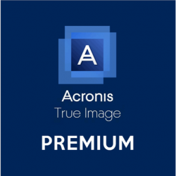 Acronis True Image  Premium Protection Subscription, 1 year(s), 5 user(s), 1 TB Cloud Storage, ESD
