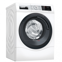 Bosch Serie 6 Washing machine with dryer WDU8H541SN B, Front loading, Washing capacity 10 kg, 1400 RPM, Depth 61.6 cm, Width 60 cm, Display, LED, Drying system, Drying capacity 6 kg, Wi-Fi, White