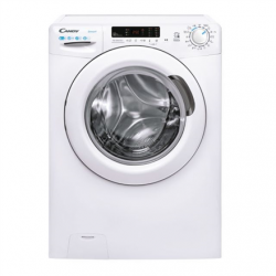 Candy Washing Machine with Dryer CSWS4 3642DE/2-S B, Front loading, Washing capacity 6 kg, 1300 RPM, Depth 43.2 cm, Width 60 cm, Drying system, Drying capacity 4 kg, Steam function, NFC, White