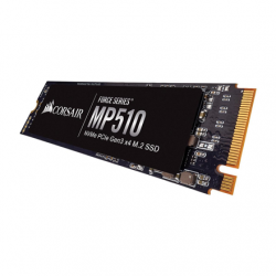 Corsair Force Series SSD MP510 960 GB, SSD form factor M.2 2280, SSD interface PCIe NVMe Gen 3.0 x 4, Write speed 3000 MB/s, Read speed 3480 MB/s