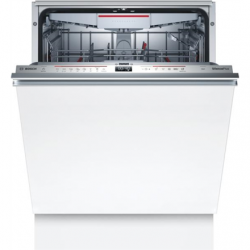 Bosch Serie 6 Dishwasher SMV6ZCX42E Built-in, Width 60 cm, Number of place settings 14, Number of programs 8, Energy efficiency class C, Display, AquaStop function, White