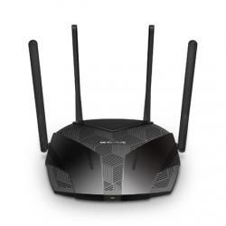 Mercusys AX1800 Dual-Band WiFi 6 Router MR70X 802.11ax, 1201+574 Mbit/s, 10/100/1000 Mbit/s, Ethernet LAN (RJ-45) ports 3, Antenna type 4xFixed, Black