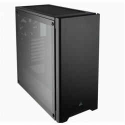 Corsair Computer Case 275R Side window, Black, ATX, Power supply included No