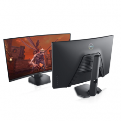 """Dell Curved Gaming Monitor  S2721HGF 27 """", VA, FHD, 1920x1080, 16:9, 1 ms, 350 cd/m², Black, Headphone Out Port"""