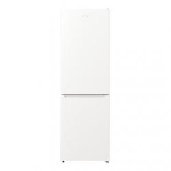 Gorenje Refrigerator NRK6191EW4 Energy efficiency class F, Free standing, Combi, Height 185 cm, No Frost system, Fridge net capacity 204 L, Freezer net capacity 96 L, Display, 38 dB, White
