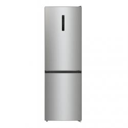 Gorenje Refrigerator NRK6192AXL4 Energy efficiency class E, Free standing, Combi, Height 185 cm, No Frost system, Fridge net capacity 204 L, Freezer net capacity 96 L, Display, 38 dB, Metalic Grey