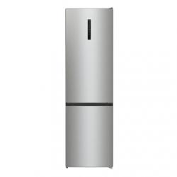 Gorenje Refrigerator NRK6202AXL4 Energy efficiency class E, Free standing, Combi, Height 200 cm, No Frost system, Fridge net capacity 235 L, Freezer net capacity 96 L, Display, 38 dB, Metalic Grey