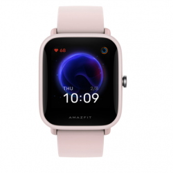 Amazfit Smart watches, TFT LCD, Touchscreen, Heart rate monitor, Waterproof, Bluetooth, Pink