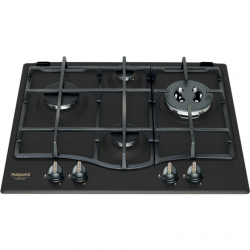 Hotpoint Hob PCN 640T (AN) GH R / HA Gas, Number of burners/cooking zones 4, Mechanical, Anthracite