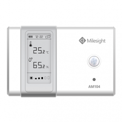 Milesight IoT LoRaWAN AM104 Indoor Ambience Monitoring Sensor Temperature Humidity Light