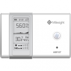 Milesight IoT LoRaWAN AM107 Indoor Ambience Monitoring Sensor Temperature Humidity Light CO2 TVOC Pressure