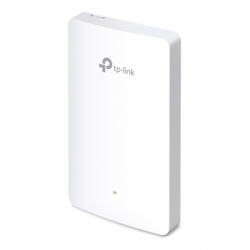 TP-LINK Omada Wireless Wall-Plate Access Point EAP225 802.11ac, 2GHz/5GHz, 867+300  Mbit/s, 10/100/1000 Mbit/s, Ethernet LAN (RJ-45) ports 3, PoE in/out, Antenna type 2xInternal