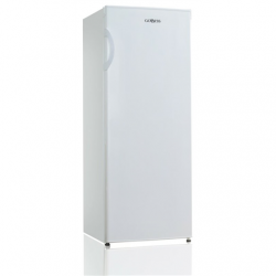 Goddess Freezer GODFSD0142TW8AF Energy efficiency class F, Free standing, Upright, Height 142 cm, Total net capacity 160 L, White