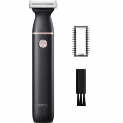 SOOCAS Electric Shaver ET2 Operating time (max) 60 min, Lithium Ion, Number of shaver heads/blades 1, Black, Cordless, Wet & Dry