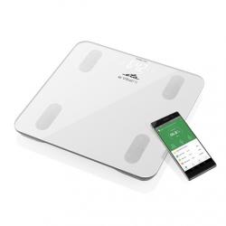 ETA Personal Scale Vital Fit ETA678190000 Body analyzer, Maximum weight (capacity) 180 kg, Accuracy 100 g, Body Mass Index (BMI) measuring, White