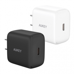 Aukey Wall Charger PA-R1  Mini USB-C, 20 W