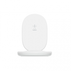 Belkin Wireless Charging Stand with PSU BOOST CHARGE White