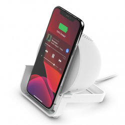 Belkin Wireless Charging Stand + Speaker BOOST CHARGE White