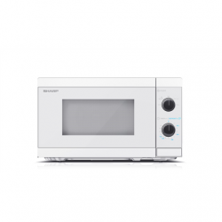 Sharp Microwave Oven  YC-MS01E-C Free standing, 20 L, 800 W,  White