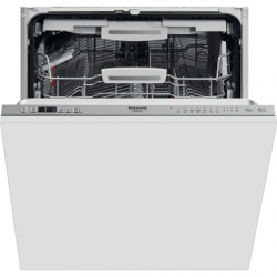 Hotpoint Dishwasher HIC 3O33 WLEG Built-in, Width 59.8 cm, Number of place settings 14, Number of programs 8, Energy efficiency class D, Silver