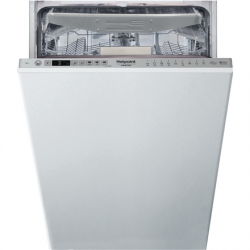 Hotpoint Dishwasher HSIO 3O23 WFE Built-in, Width 44.8 cm, Number of place settings 10, Number of programs 10, Energy efficiency class E, Display, Silver