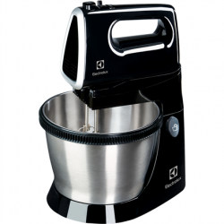 Electrolux Mixer ESM3310 Mixer with bowl, 450 W, Number of speeds 5, Black
