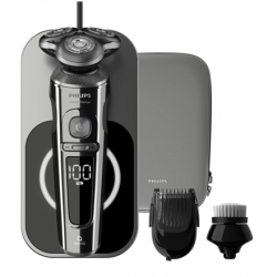 Philips Series 9000 Shaver SP9862/14 Operating time (max) 60 min, Lithium Ion, Number of shaver heads/blades 3, Black, Cordless