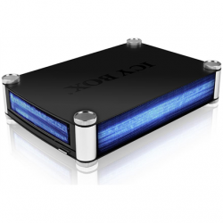 "Raidsonic ICY BOX IB-550StU3S External enclosure for 5.25"" SATA Blu-Ray/CD/DVD Drives and 3.5"" HDDs USB 3.0"