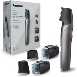 Panasonic Hair trimmer ER-GY60-H503 Operating time (max) 50 min, Number of length steps 20, Step precise 0.5 mm, Built-in rechargeable battery, Black/Silver, Cordless