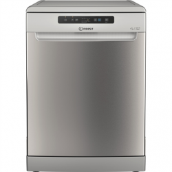 INDESIT Dishwasher DFC 2B+19 AC X Free standing, Width 60 cm, Number of place settings 13, Number of programs 5, Energy efficiency class F, Inox