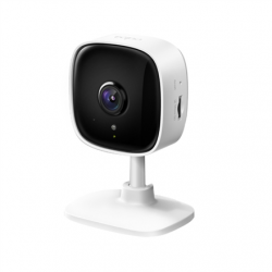 TP-LINK Home Security Wi-Fi Camera Tapo C110 Cube, 3 MP, 3.3mm/F/2.0, Privacy Mode, Sound and Light Alarm, Motion Detection and Notifications, Advanced Night Vision, H.264, Micro SD, Max. 256 GB