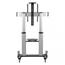 """Tripp lite Rolling TV/LCD Mounting Cart DMCS60100XX 60-100"""", up to 99.8kg, laptop shelf up to 4.9kg, VESA from 200 to 1000mm, Black/Silver"""