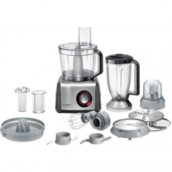 Bosch Food Processor MultiTalent 8 MC812M844  Black, 1250 W, Number of speeds Equal speed setting, instant and pulse functions, 3.9 L, Blender