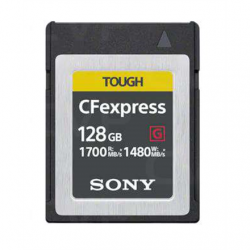 Sony CEBG128.SYM CEB-G Series CFexpress Type B Memory Card - 128GB