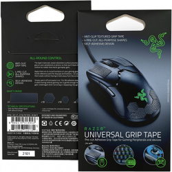 Razer Universal Grip Tape for Peripherals and Gaming Devices, 4 Pack Black