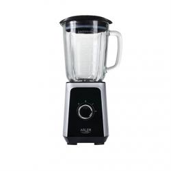 Adler Blender AD 4076 Tabletop, 1000 W, Jar material Glass, Jar capacity 1.5 L, Ice crushing, Black