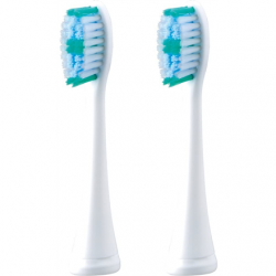 Panasonic Toothbrush replacement EW-DM81-G503 Heads, For adults, Number of brush heads included 2, White